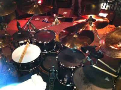 El Chulo is my main drumset: Tama Starclassic Performer Bubinga/Birch